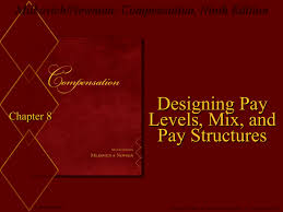 Designing Pay Levels Mix And Pay Structures Milkovich Newman Compensation Ninth Edition