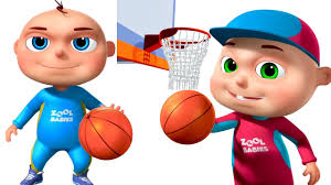 playing cartoon zool babies playing basket ball animated funny cartoon cartoon