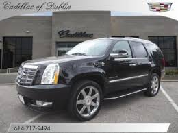 cadillac escalade 2014. used 2014 cadillac escalade luxury awd for sale in dublin oh