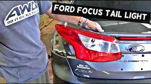 Remove Rear Light Cluster Ford Mondeo Ford Focus Sedan Rear Tail Light Removal Replacement