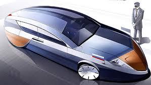 Как российские дизайнеры попадают в крупнейшие автомобильные  Проект Руссо Балт С 24 35 таким выпускник видел автомобиль российского