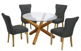set chairs glass est hygena and patio table black harveys gumtree fabric argos chair round small extraordinary kitchen delectable dining splendid
