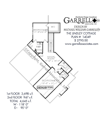 lindley cottage house plan house plans by garrell associates, inc Mountain Craftsman House Plans lindley cottage house plan 14049, 2nd floor plan mountain craftsman house plans with photos