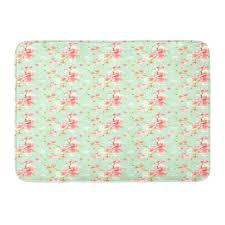 mint green carpet tiles mint pink rug retro mint pink shabby elegance bath rug navy mint