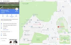 Ross Ade Stadium Labeled Nutcracker Stadium On Google Maps