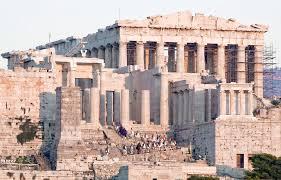 Акрополь Греция Афинский Акрополь фото расположение на карте Акрополь Парфенон