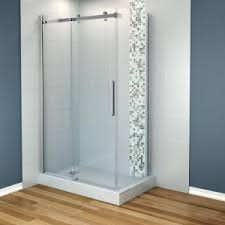 Frameless Corner Sliding Shower Enclosure in Chrome-105948-900-084-100 -  The Home Depot
