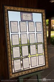 Mirror Wedding Seating Chart Mirror Seating Chart