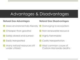 Advantages And Disadvantages Of Natural Gas What Are The Advantages And Disadvantages Of Natural Gas Energy