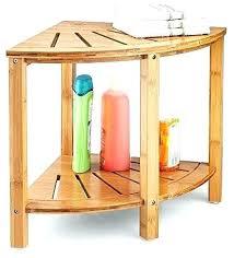 corner shower stool bamboo shower bench bamboo shower stool seat bench wooden corner shower stool bench