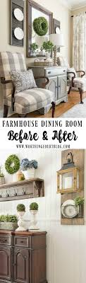 Farmhouse Dining Room Makeover Reveal - Before And After. Farmhouse Dining  RoomsFarmhouse ...