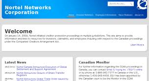 Access Nortel Canada Com Nortel Networks Corporation