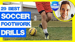 29 Best Soccer Footwork Drills (How to improve footwork in football *Get  Faster Skills & Moves) - YouTube