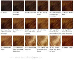 Well Hair Color Chart Brown Hair Colors Hair Colors Brown Hair Coloring Tips Hair
