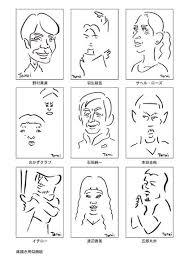 2018年ポートフォリオ似顔絵イラスト作品集 お絵描き日記