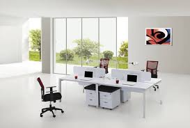 office furniture for small spaces. Stylish 3 Person Desk Inside Intended For The Office Leader PEBLO Cluster Of Mobile Furniture: Furniture Small Spaces R
