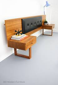 modern furniture pinterest. mid century teak bedside tables drawers bedhead retro vintage danish scandi era in home u0026 garden furniture bedroom modern pinterest f