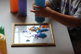 3D Painted Picture Frames