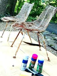 outdoor patio furniture paint give wooden