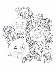 Emojis Emoticons Coloring Pages 10 Coloring Pages Pinterest