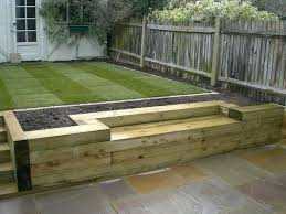 wooden garden retaining wall when it comes to retaining wall landscape design and construction timber is