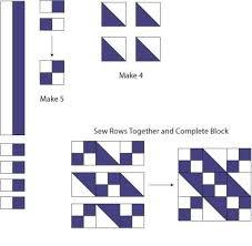 Jacob's Ladder Quilt Block Pattern & jacob's ladder quilt block pattern Adamdwight.com