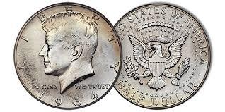 1972 Kennedy Half Dollar Value Chart The History And Value Of The Kennedy Half Dollar Coin