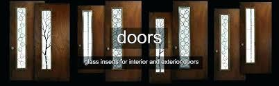 doors with glass insert exterior door glass inserts entry door glass inserts and frames front doors doors with glass insert