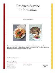 Catering Flyer Free Flyer Designs Pinterest Flyer Template
