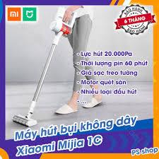 Máy hút bụi không dây cầm tay Xiaomi Mijia 1C lực hút siêu mạnh, Giá tháng  12/2020