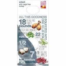 Embark  Grain Free Turkey Dog Food - Honest kitchen dog food