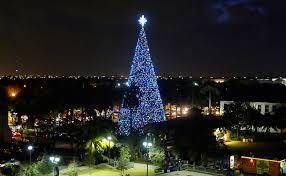 Delray Beach 100ft Christmas Tree Events