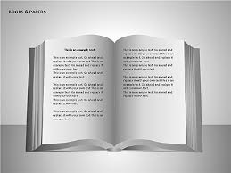 Books And Paper For Presentations In Powerpoint And Keynote Ppt Star