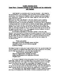 macbeth essay quotes co analysis of the relationship between macbeth and lady macbeth macbeth essay quotes
