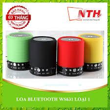 LOẠI 1] Loa Bluetooth WS-631 – Linh Kiện Nam Trung Hải