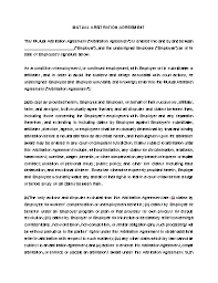 Looking for a arbitration agreement form templates? Mutual Arbitration Agreement Template Approveme Free Contract Templates