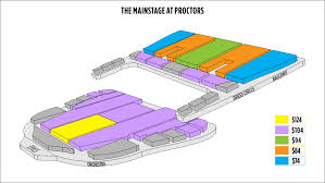 Proctors Mainstage Seating Chart 47 Unusual Best Seats At Proctors