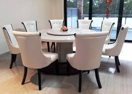 tremendous round marble dining table set 46 kitchen view larger and chair for 6 singapore malaysium 8 uk with lazy susan sydney
