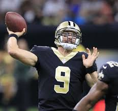 new orleans saints quarterback drew brees gets ready to throw a pass during a preseason game against the houston texans last month