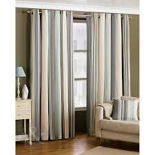 ready made striped eyelet curtains lined cream grey duck egg blue curtain pair duck egg blue grey cream curtain pair 90 x 90 extra long
