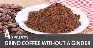 It's certainly not impossible, though. How To Grind Coffee Beans Without A Grinder 4 Simple Ways