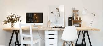 stylish office. plain stylish how to create a stylish office when you work from home inside y