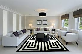 black and white rug modern red rugs