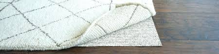 rug pads for wood floors best rug pads for hardwood floors natural rubber carpet is the