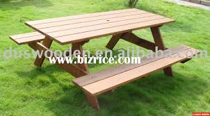 Great Outdoor Wooden Tables And Benches Wooden Picnic Tables For Outdoor Wood Furniture Sale