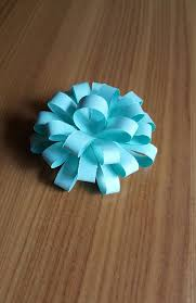 Flower Out Of Paper Decorative Bow Flower Out Of Waste For Greeting Cards And Gifts 4 Steps