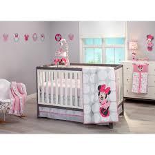 Disney Baby Minnie Mouse Polka Dots 4 Piece Crib Bedding Set ... & Disney Baby Minnie Mouse Polka Dots 4 Piece Crib Bedding Set Adamdwight.com