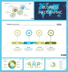 Business Inforgraphic Design Set For Management Concept Can