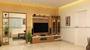 Call us to discuss living room home interior design kerala or bangalore. Dlife Flint Living Room Partition Work