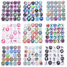 19 <b>styles 10pcs</b>/<b>lot Mixed</b> Flower Pattern&Styles Charms 12mm ...